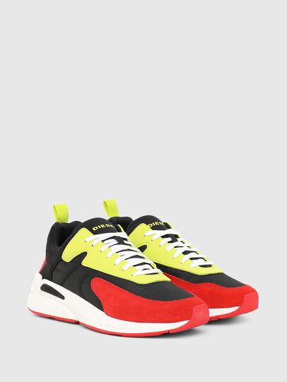 Diesel - S-SERENDIPITY LOW CU, Nero/Rosso - Sneakers - Image 2