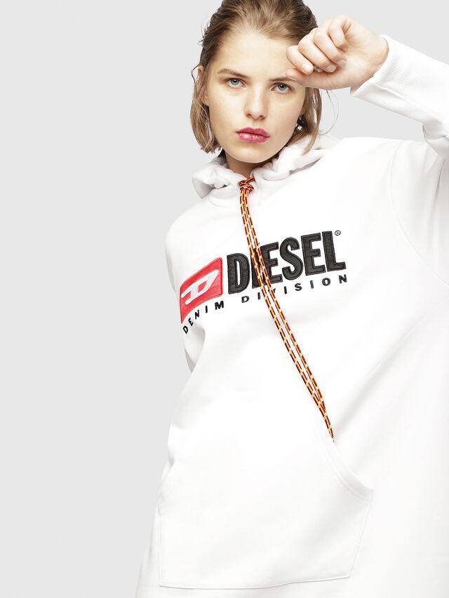 Diesel - D-ILSE-C, Bianco - Vestiti - Image 3