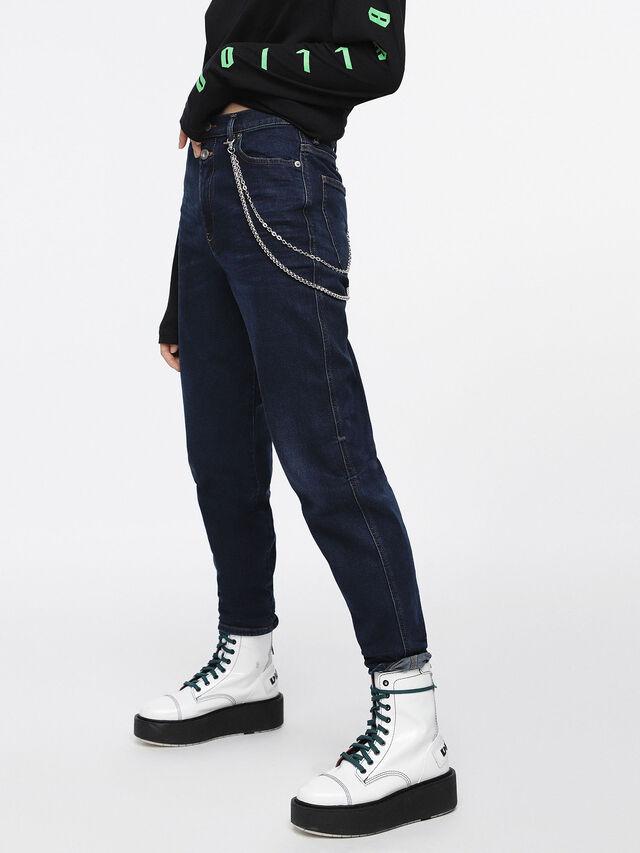 Diesel - Alys 084ZC, Blu Scuro - Jeans - Image 1