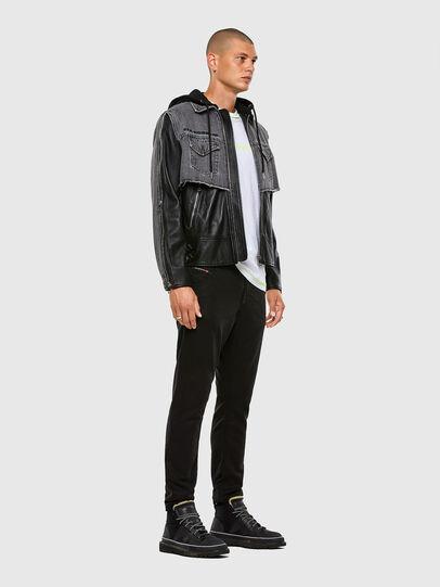 Diesel - KROOLEY JoggJeans® 069NC, Nero/Grigio scuro - Jeans - Image 5