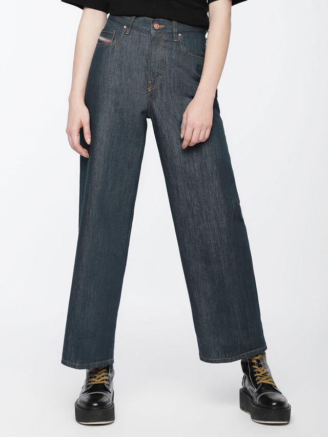Diesel - Widee 084UR, Blu Scuro - Jeans - Image 1