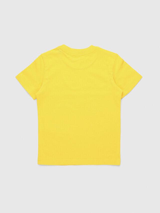Diesel - TUCSEB-R, Giallo - T-shirts e Tops - Image 2