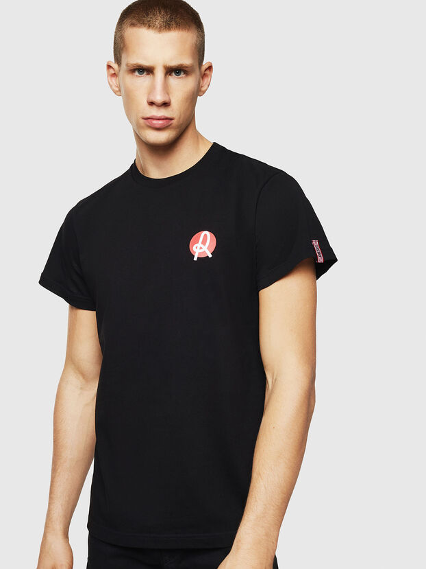 LR-T-DIEGO-VIC, Nero - T-Shirts