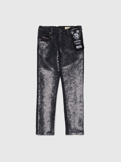 Diesel - BABHILA-J-SP1, Nero - Jeans - Image 1