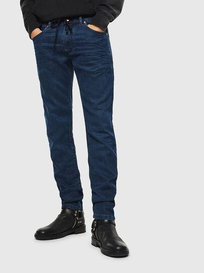 Diesel - Thommer JoggJeans 0688J, Blu Scuro - Jeans - Image 1