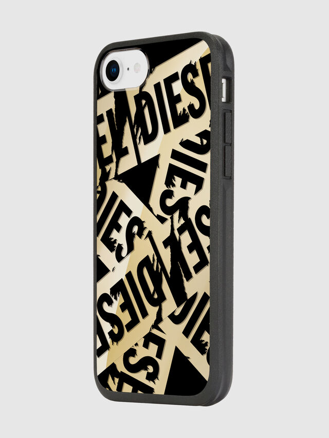 Diesel - MULTI TAPE GOLD/BLACK IPHONE 8/7/6S/6 CASE, Oro - Cover - Image 5
