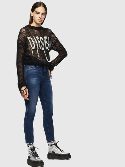 Diesel - Babhila 083AE, Blu Scuro - Jeans - Image 5