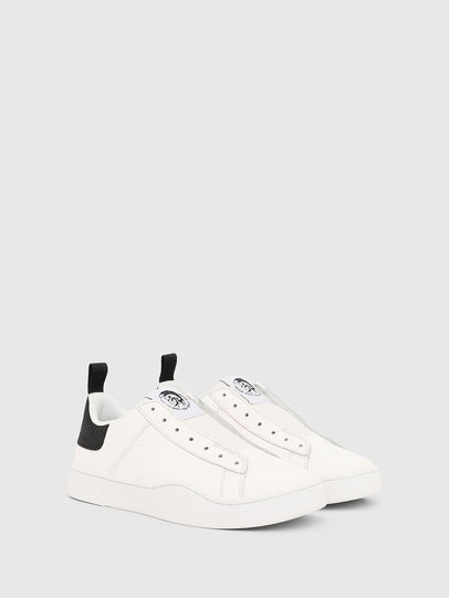 Diesel - S-CLEVER SO W, Bianco/Nero - Sneakers - Image 2