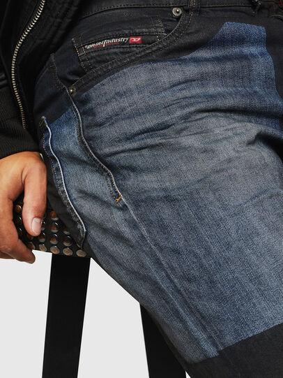 Diesel - D-Strukt 0094K, Blu Scuro - Jeans - Image 5
