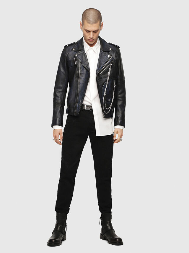 Diesel - S-TUDS, Bianco - Camicie - Image 4