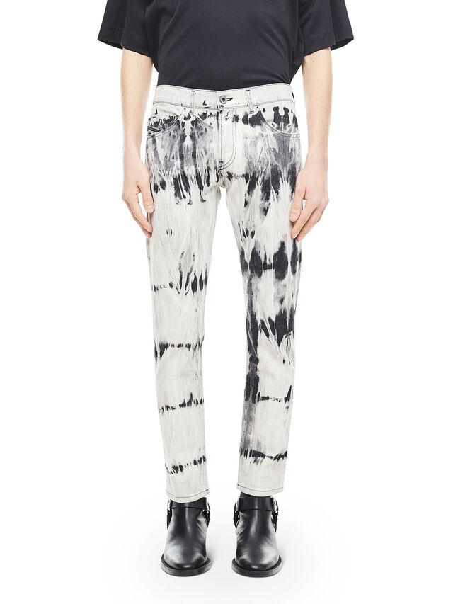 Diesel - TYPE-2813FS, Bianco/Nero - Jeans - Image 1
