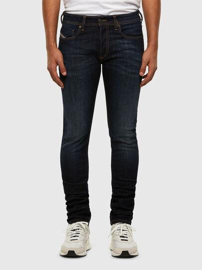 Diesel - Sleenker 009EY, Blu Scuro - Jeans - Image 1