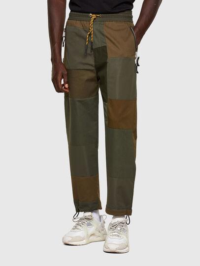 Diesel - P-HOR, Verde Militare - Pantaloni - Image 1