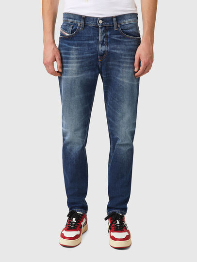 Diesel - D-Fining 09A92, Blu medio - Jeans - Image 1