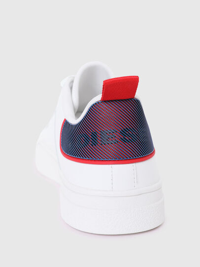 Diesel - S-CLEVER LOW LACE, Bianco/Rosso - Sneakers - Image 4