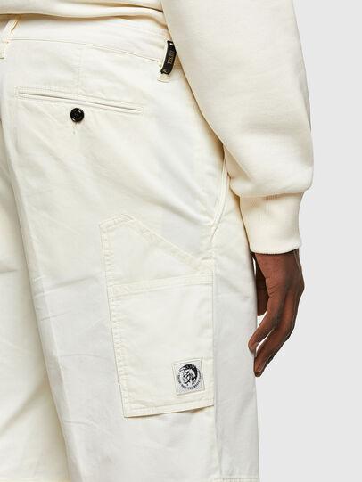 Diesel - P-HATY, Bianco - Shorts - Image 3
