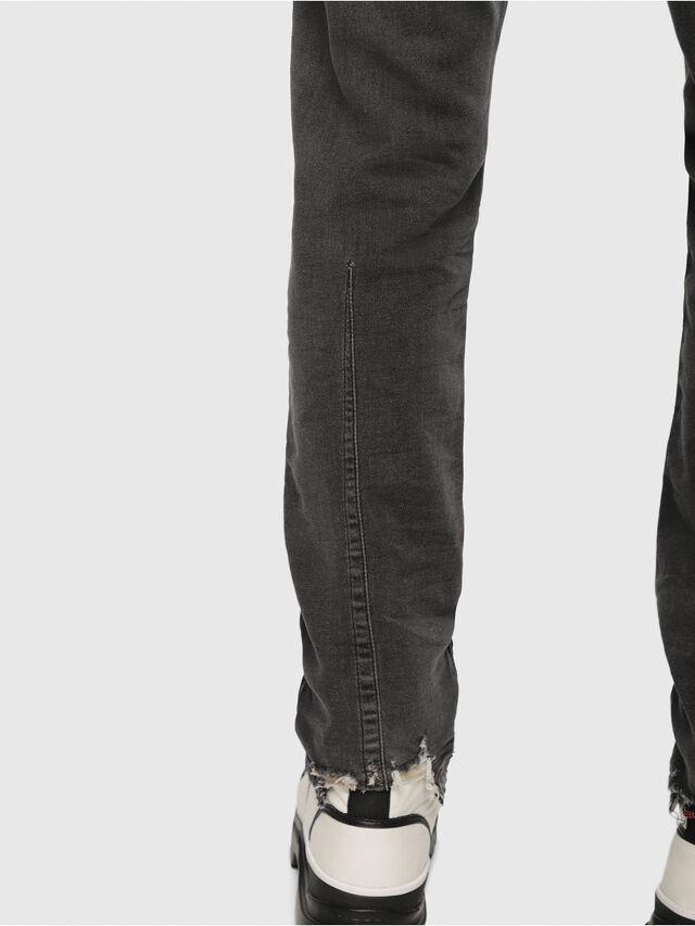 Diesel - Krooley JoggJeans 069EM, Nero/Grigio scuro - Jeans - Image 3