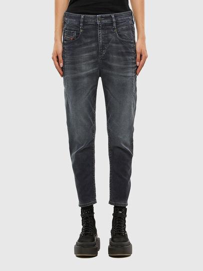 Diesel - FAYZA JoggJeans® 069QA, Nero/Grigio scuro - Jeans - Image 1