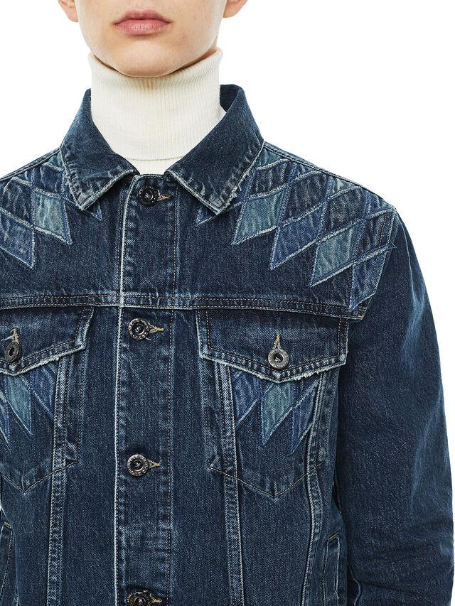 Diesel - JONDER, Blu Jeans - Giacche - Image 3