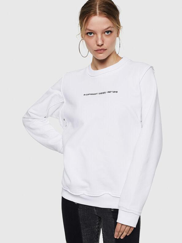 F-LYANY-F, Bianco - Felpe
