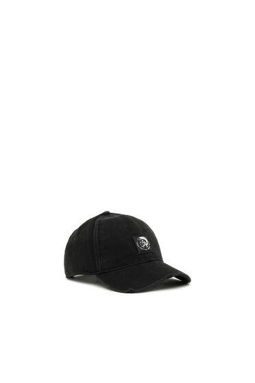 Cappello da baseball in twill con applicazione Mohawk