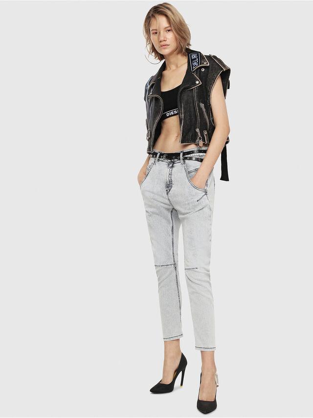 Diesel - Fayza JoggJeans 069FE, Blu Chiaro - Jeans - Image 4
