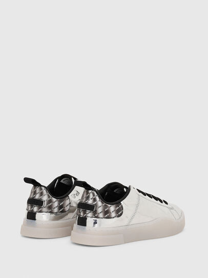Diesel - S-CLEVER LOW LACE W, Argento - Sneakers - Image 3