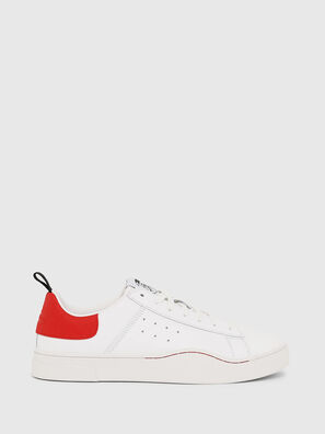 S-CLEVER LOW, Bianco/Rosso - Sneakers