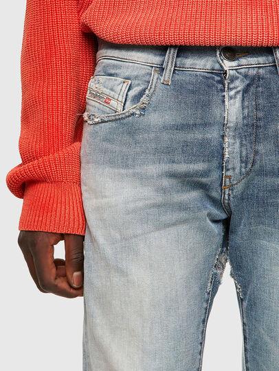 Diesel - D-Strukt 09A04, Blu Chiaro - Jeans - Image 4
