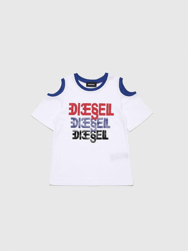 TANIURAB-R, Bianco - T-shirts e Tops