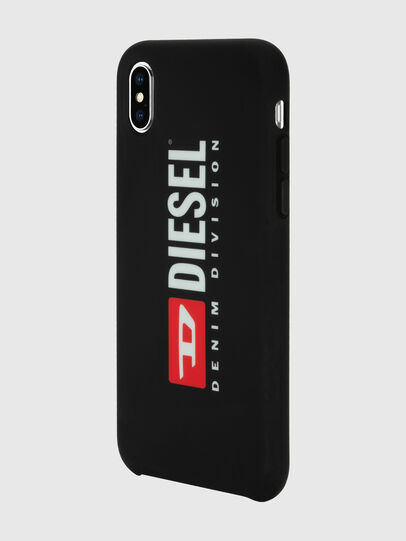 Diesel - DIESEL PRINTED CO-MOLD CASE FOR IPHONE XS MAX, Nero/Bianco - Cover - Image 5