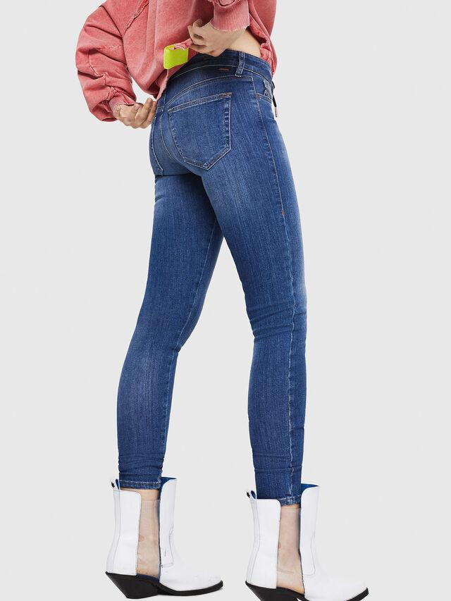 Diesel - Slandy 088AU, Blu medio - Jeans - Image 2