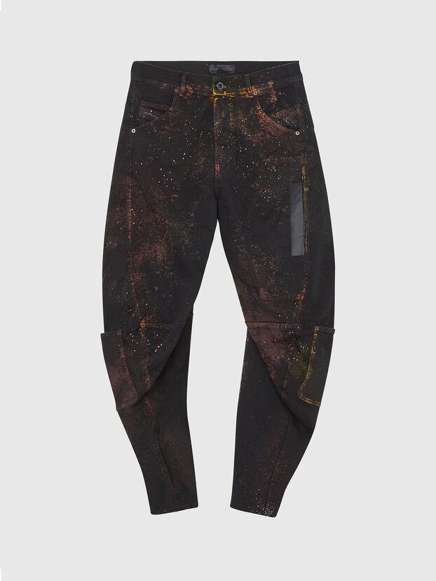 TYPE-2018-NE, Nero/Grigio scuro - Jeans