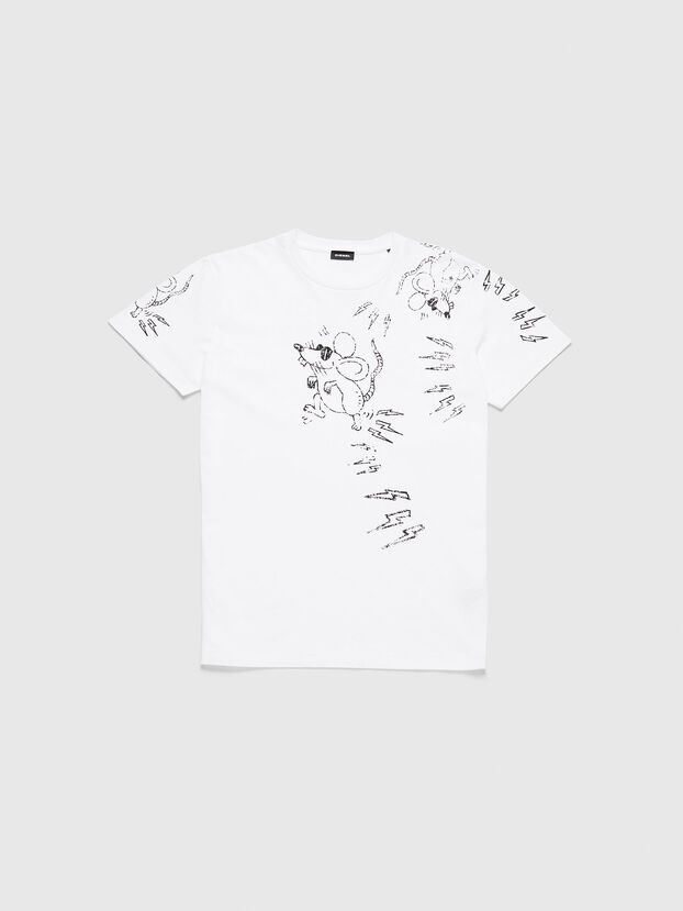 CL-T-DIEGO-3, Bianco - T-Shirts