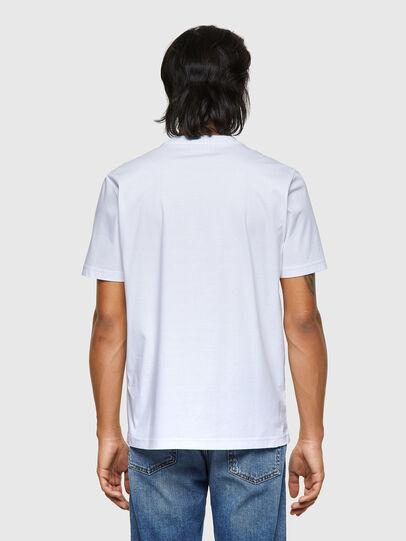 Diesel - T-JUST-ROMOHI, Bianco - T-Shirts - Image 2