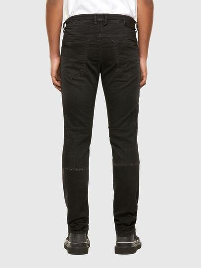 Diesel - Thommer JoggJeans 009IC, Nero/Grigio scuro - Jeans - Image 2