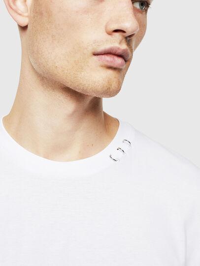 Diesel - T-GROSSI, Bianco - T-Shirts - Image 3