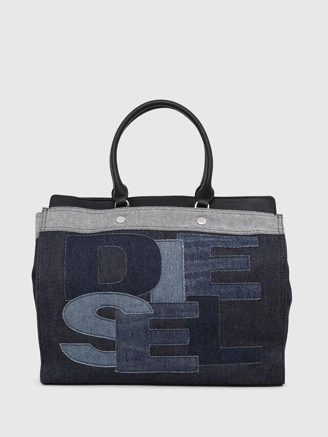 Diesel - F-DESTAR SHOPPER M, Blu Jeans - Shopper e Borse a Spalla - Image 1
