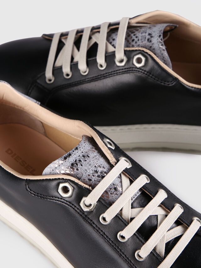 Diesel - S- ANDYES W, Nero/Argento - Sneakers - Image 4