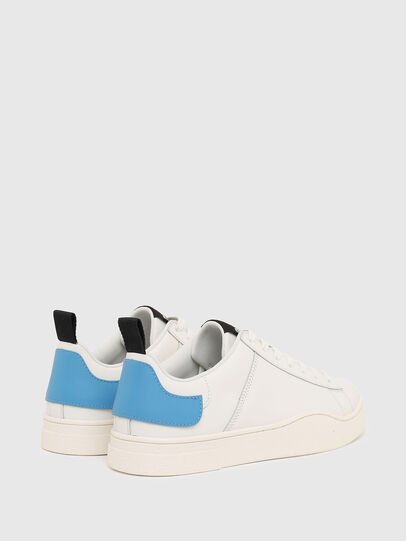 Diesel - S-CLEVER LOW LACE, Bianco/Blu - Sneakers - Image 3