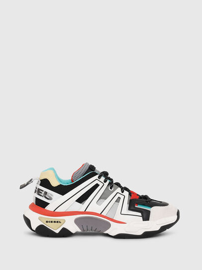 Diesel - S-KIPPER LOW TREK, Bianco - Sneakers - Image 1
