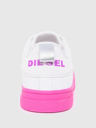 Diesel - S-CLEVER LOW LACE W, Bianco/Rosa - Sneakers - Image 6