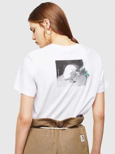 Diesel - T-DIEGO-J20, Bianco - T-Shirts - Image 4