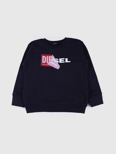 Diesel - SALLY OVER, Blu Navy - Felpe - Image 1