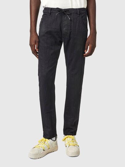 Diesel - Krooley JoggJeans® 069WW, Nero/Grigio scuro - Jeans - Image 1