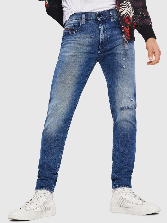 Diesel - D-Strukt 081AQ, Blu medio - Jeans - Image 1