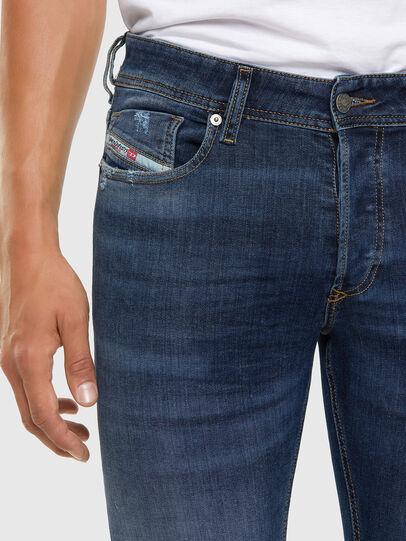 Diesel - Sleenker 009DK, Blu Scuro - Jeans - Image 3