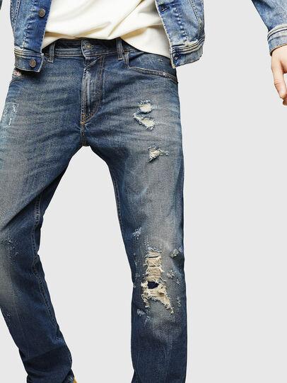Diesel - Thommer 083AC, Blu Scuro - Jeans - Image 3