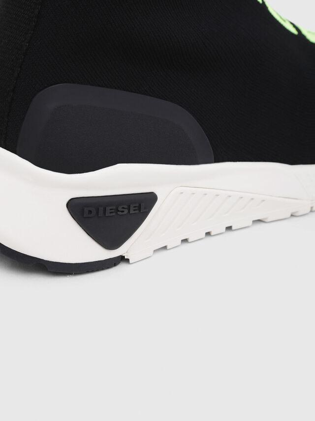Diesel - S-KB MID ATHL SOCK, Nero - Sneakers - Image 5