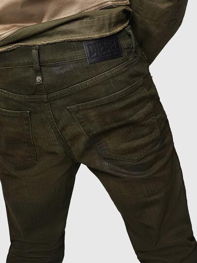 Diesel - Mharky 0078D, Verde Militare - Jeans - Image 4